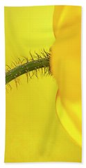 Beach Towel featuring the photograph Icelandic Poppy by John Rodrigues
