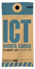 Ict Wichita Luggage Tag I Beach Towel
