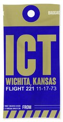 Ict Wichita Luggage Tag II Beach Towel