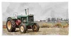 Beach Towel featuring the photograph In The Field by Brad Allen Fine Art