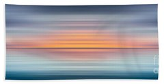 India Colors - Abstract Wide Oceanscape Beach Towel