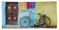 Indian Bicycle Beach Towel