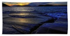 Beach Towel featuring the photograph Indigo by Doug Gibbons
