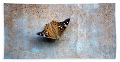 Industrious Butterfly Beach Towel