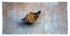 Industrious Butterfly Beach Sheet