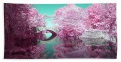 Infrared Bridge Beach Towel