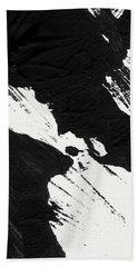 Ink Wave 2- Art By Linda Woods Beach Towel