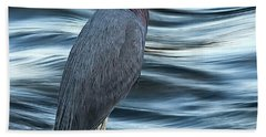 Inlet Heron Beach Towel