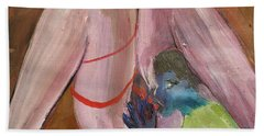 Insatiable Man Insatiable Beach Towel