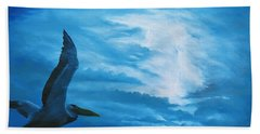 Out Of The Blue Beach Towel