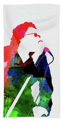 Inxs Watercolor Beach Towel