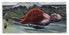It Floats - Man Beach Sheet