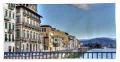 Italy River Beach Towel