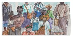It's Cotton Picking Time At The Spangler Farm In South Alabama Beach Towel