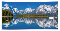 Jackson Lake Beach Towel