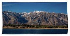 Jackson Lake Wyoming Beach Towel