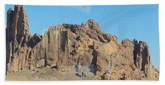 Jagged Rocks Beach Towel