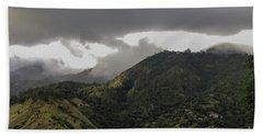 Jamaican Blue Mountains Beach Towel