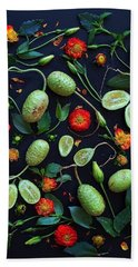 Jamaican Burr Cucumbers Beach Towel