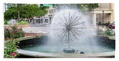 James Brown Blvd Fountain - Augusta Ga Beach Towel