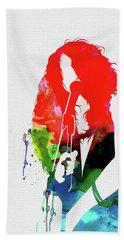 Janis Watercolor Beach Towel
