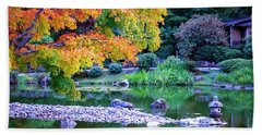 Japanese Garden Beach Sheet
