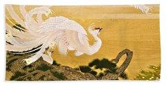 Japanese Modern Interior Art #121-part1 Beach Towel