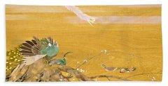 Japanese Modern Interior Art #121-part2 Beach Towel