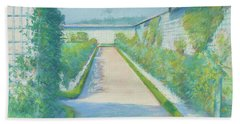Jardin Potager, Yerres, 1877  Beach Towel