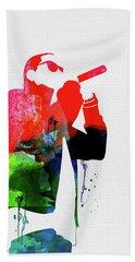 Jay-z Watercolor Beach Towel