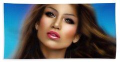 Jennifer Lopez Beach Sheet