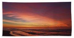 Jersey Shore Sunrise Beach Towel