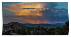 Joshua Tree Thunderhead Beach Towel
