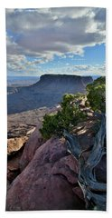 Junction Butte And Grand View Point Beach Towel