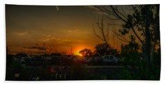 Junk Yard Sunset Beach Sheet