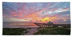 Juno Beach Pier Beach Sheet