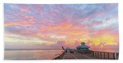 Juno Beach Pier Sunrise Beach Sheet