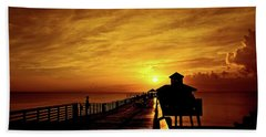 Juno Pier 4 Beach Towel