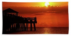 Juno Pier 6 Beach Towel