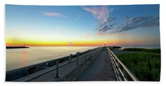 Jupiter Inlet Morning Sky Beach Towel