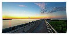 Jupiter Inlet Morning Sky Beach Sheet