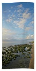 Jupiter Island Shoreline Beach Towel
