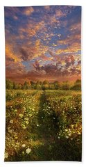 Beach Towel featuring the photograph Just Follow Your Feet by Phil Koch