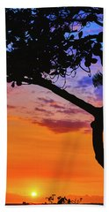 Just Another Kona Sunset Beach Towel