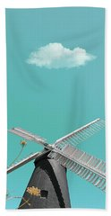 Just Breathe Beach Towel