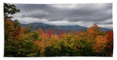 Kancamagus Highway Scene Beach Sheet