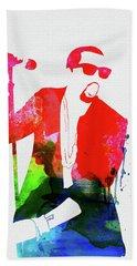Kanye Watercolor Beach Towel