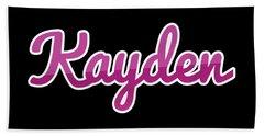 Kayden Beach Towels