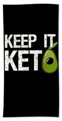 Keep It Keto Beach Towel
