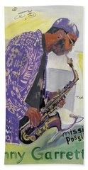 Kenny Garrett Beach Towel
